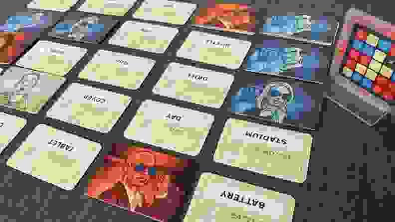 codenames original game board