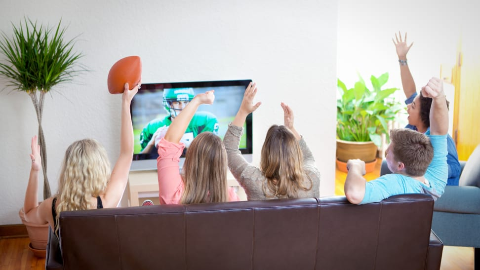 A low profile indoor antenna can pull in all your local NFL games for free.