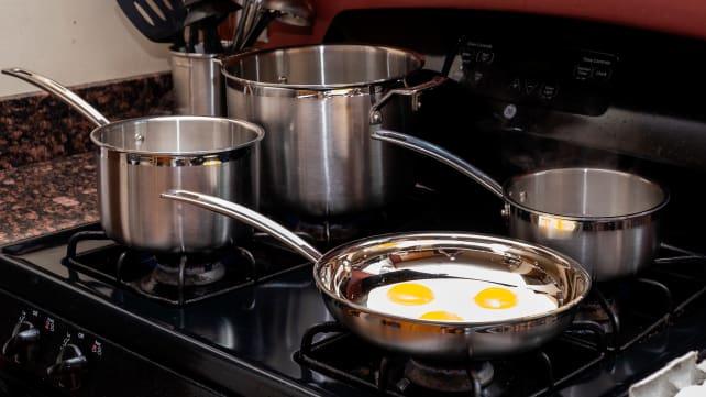 Best Cookware Set: Cuisinart Stainless Steel 12-Piece