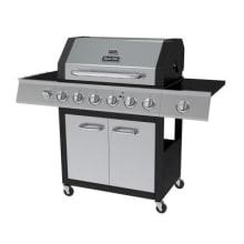 Dyna-Glo 6-burner gas grill with side burner