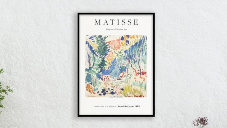 Poster of artwork.
