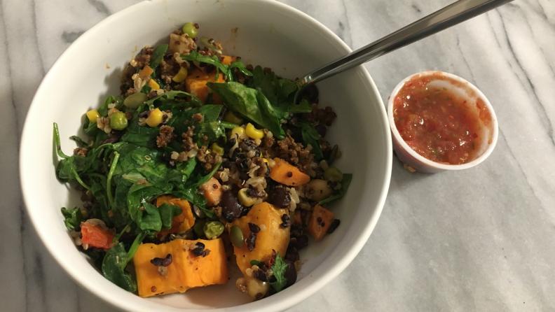snap kitchen taco bowl