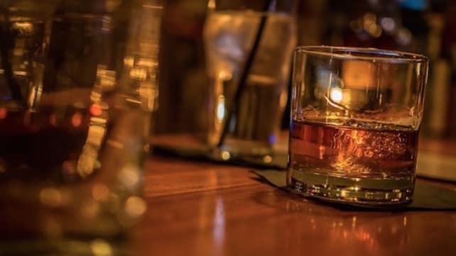 Infused bourbon sous vide