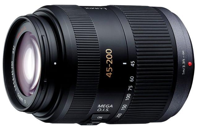 Product Image - Panasonic Lumix G Vario 45-200mm f/4.0-5.6 Mega O.I.S. Lens