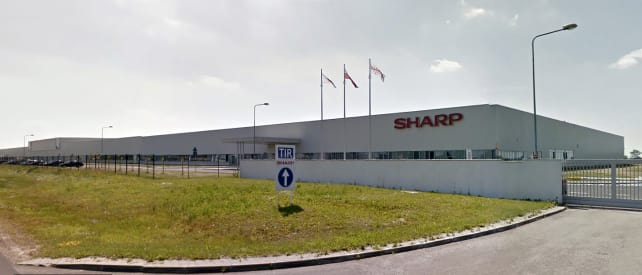 Sharp LCD Factory in Torun, Poland