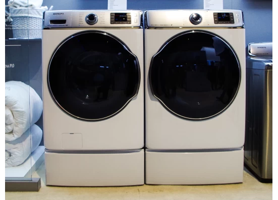 Samsung WF56H9100A and Dryer