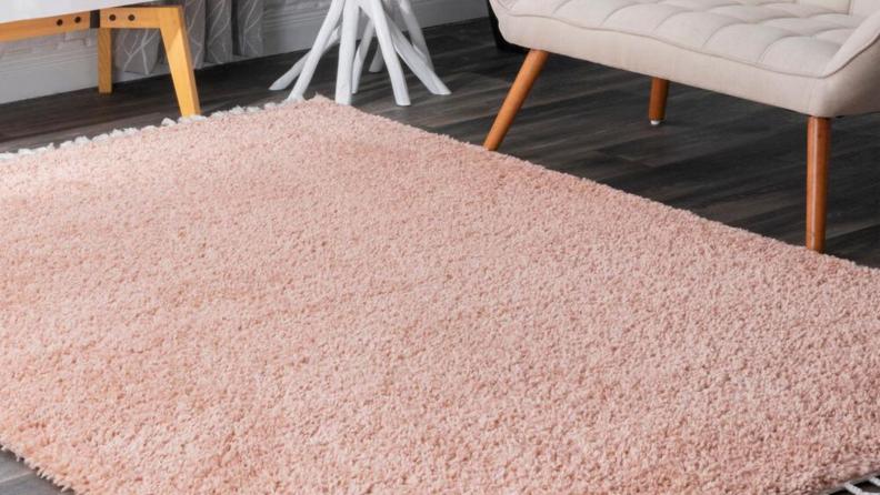pink rug