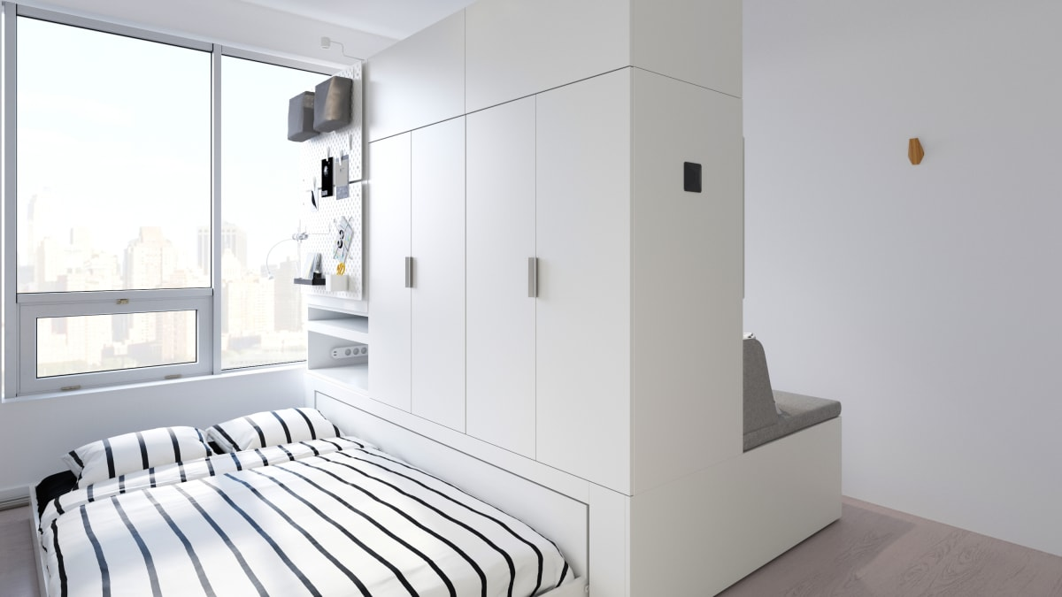 Tiny home lovers, rejoice—Ikea is coming out with robotic furniture