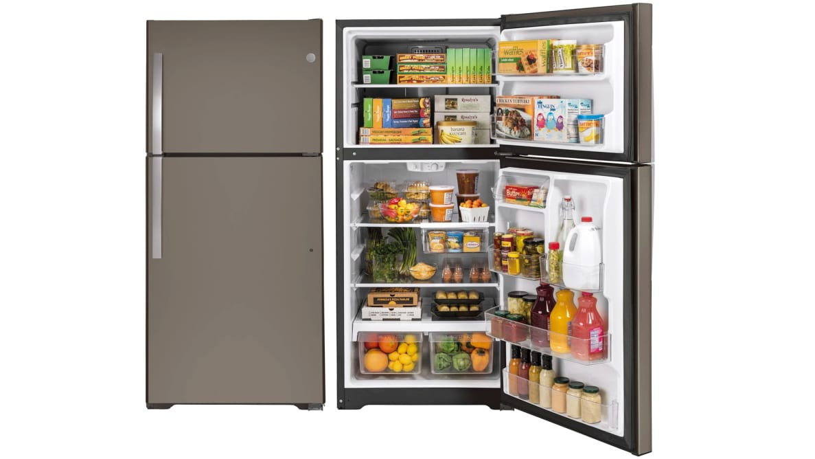 GE GTS22KGNRBB Top-Freezer Fridge Review