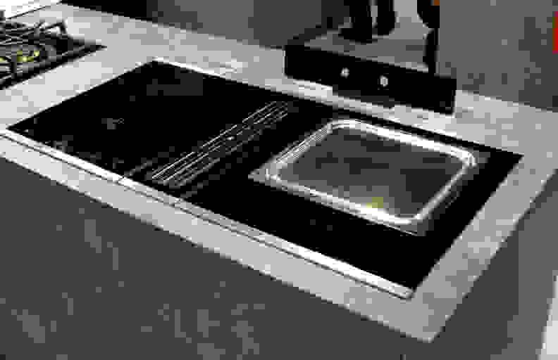 Kuppersbusch downdraft cooktop