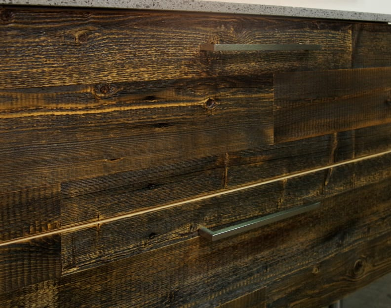 Semihomemade reclaimed wood