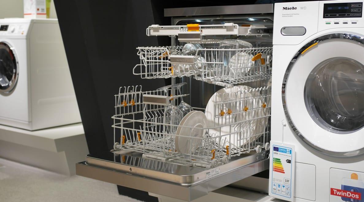 The Miele EditionConn@ct dishwasher