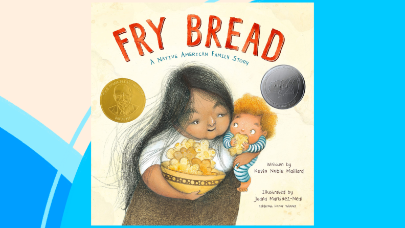 The cover of Fry Bread: A Native American Family Story.