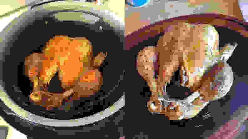 Ninja Foodi - Roasted Chicken by Tester
