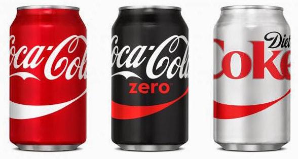US Coke Cans