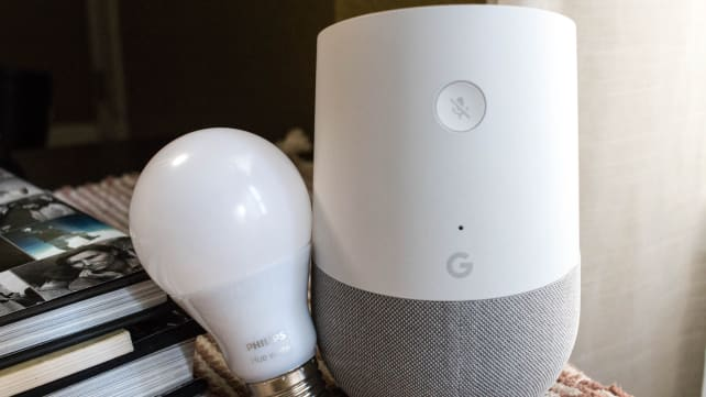 Google Home with smart bulbs