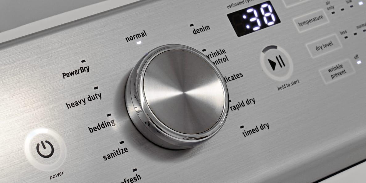 MAYTAG BRAVOS MGDB855DW 8.8-Cu.-Ft. Gas Dryer with Steam