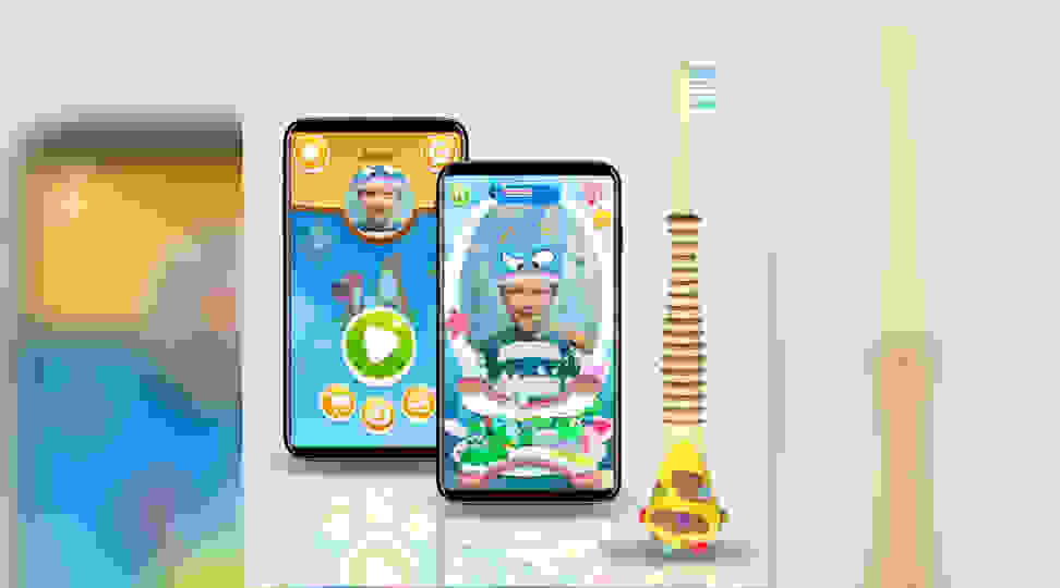Make toothbrush time less of a struggle with this AR game for kids