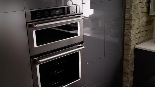 KitchenAid black stainless