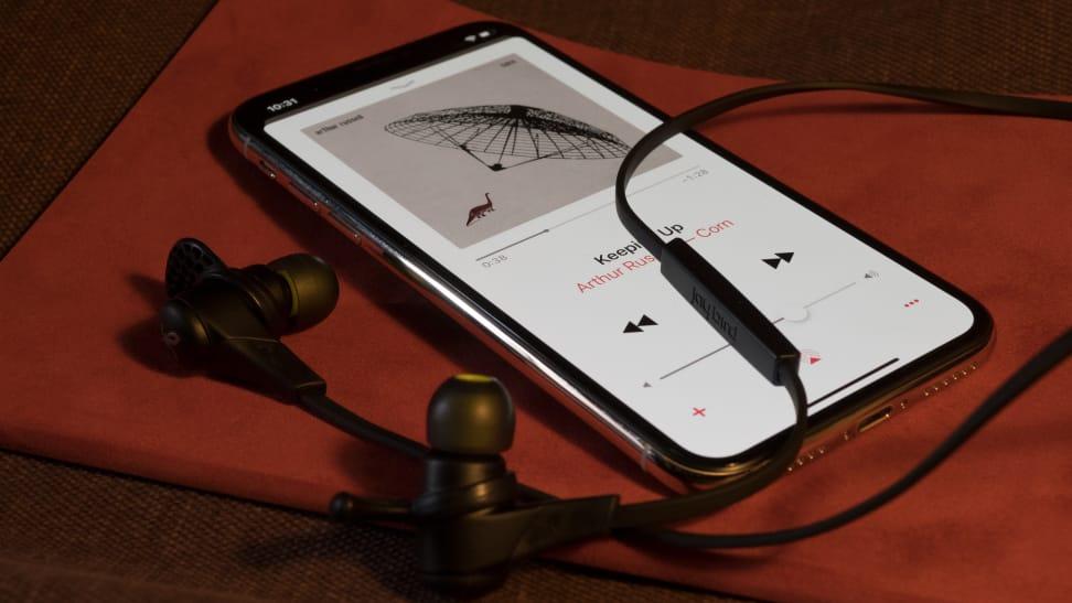 Apple iPhone X with Headphones