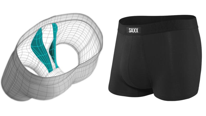 Saxx's BallPark Pouch model, Saxx trunks