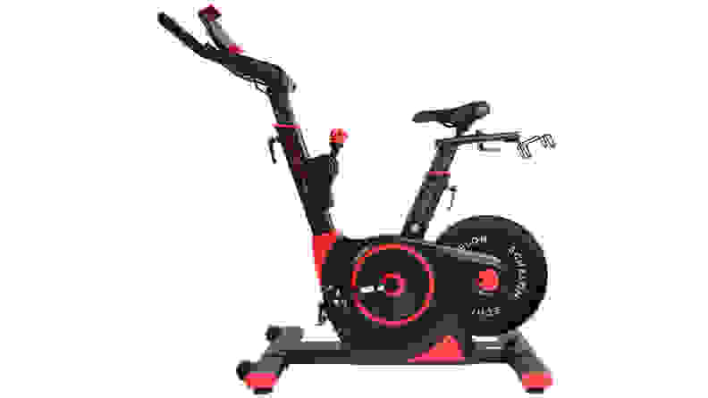 A stationary spin bike that's an investment in your health
