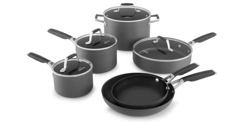 Calphalon 10-piece nonstick set