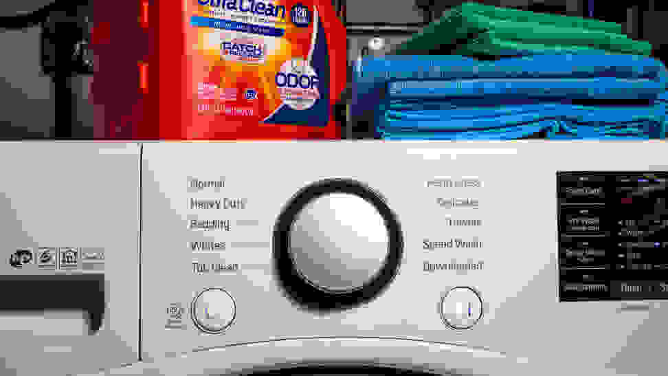 The LG WM3500CW is a fantastic mid-tier washer.