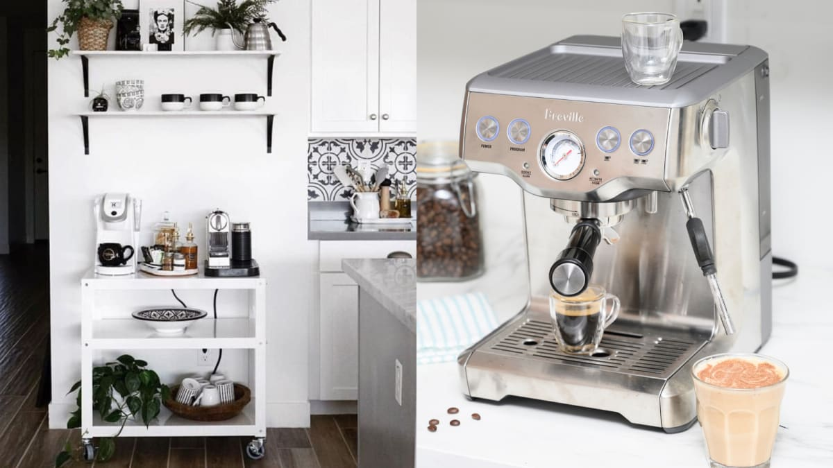 Coffee stations are a huge 2020 trend—here's how to make one in your kitchen