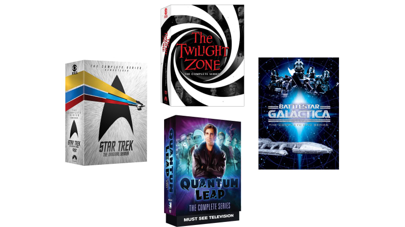 SciFi DVDs