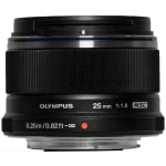 Olympus m.zuiko 25mm f1.8