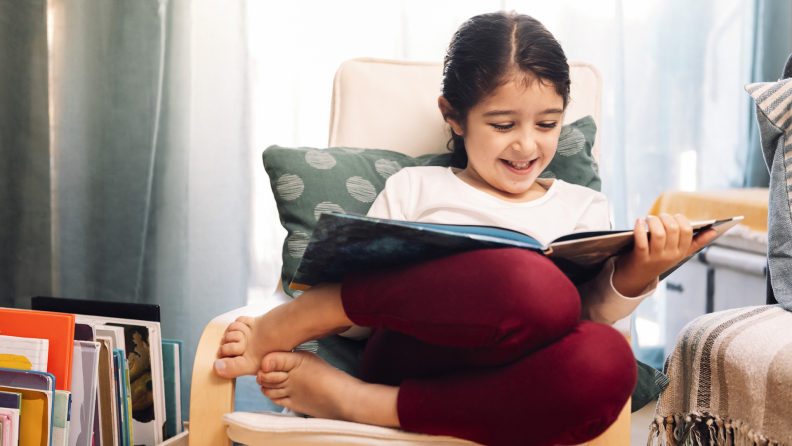 H3 child reading