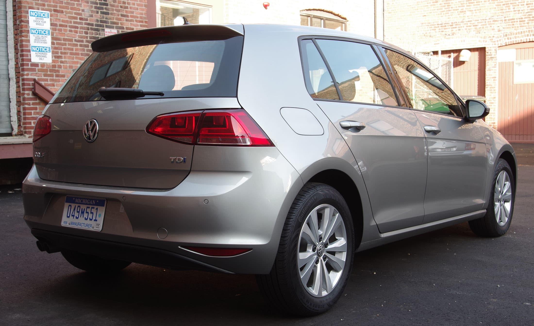 2015 VW Golf rear