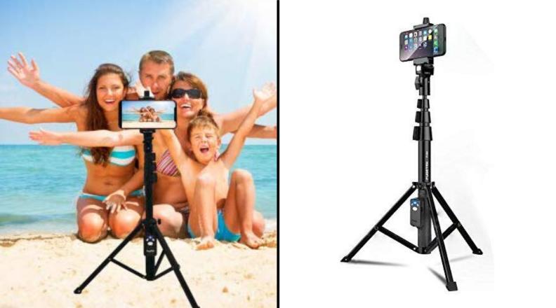 Fugetek's Selfie Stick and Bluetooth-enabled Tripod