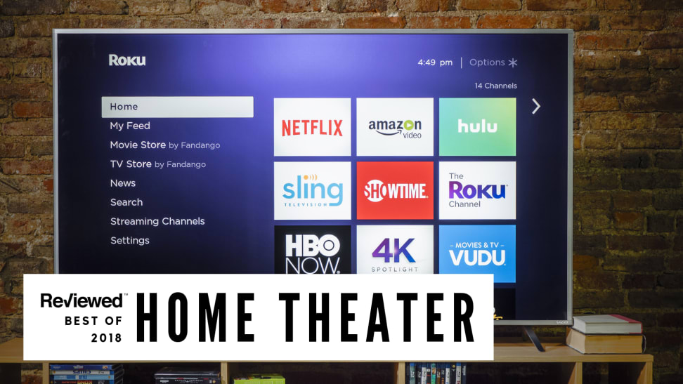 The Best TVs and Home Theater Products of 2018