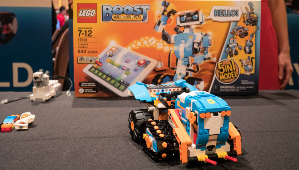 Lego Boost turns everyday Legos into robots!