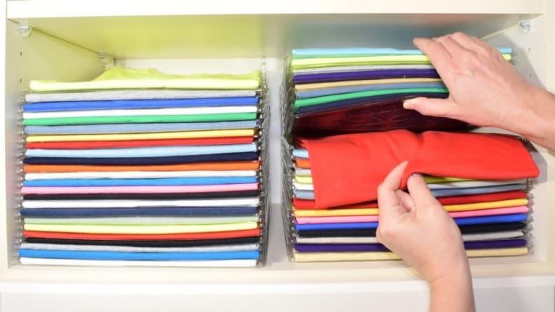 EZSTAX Clothing Organization System