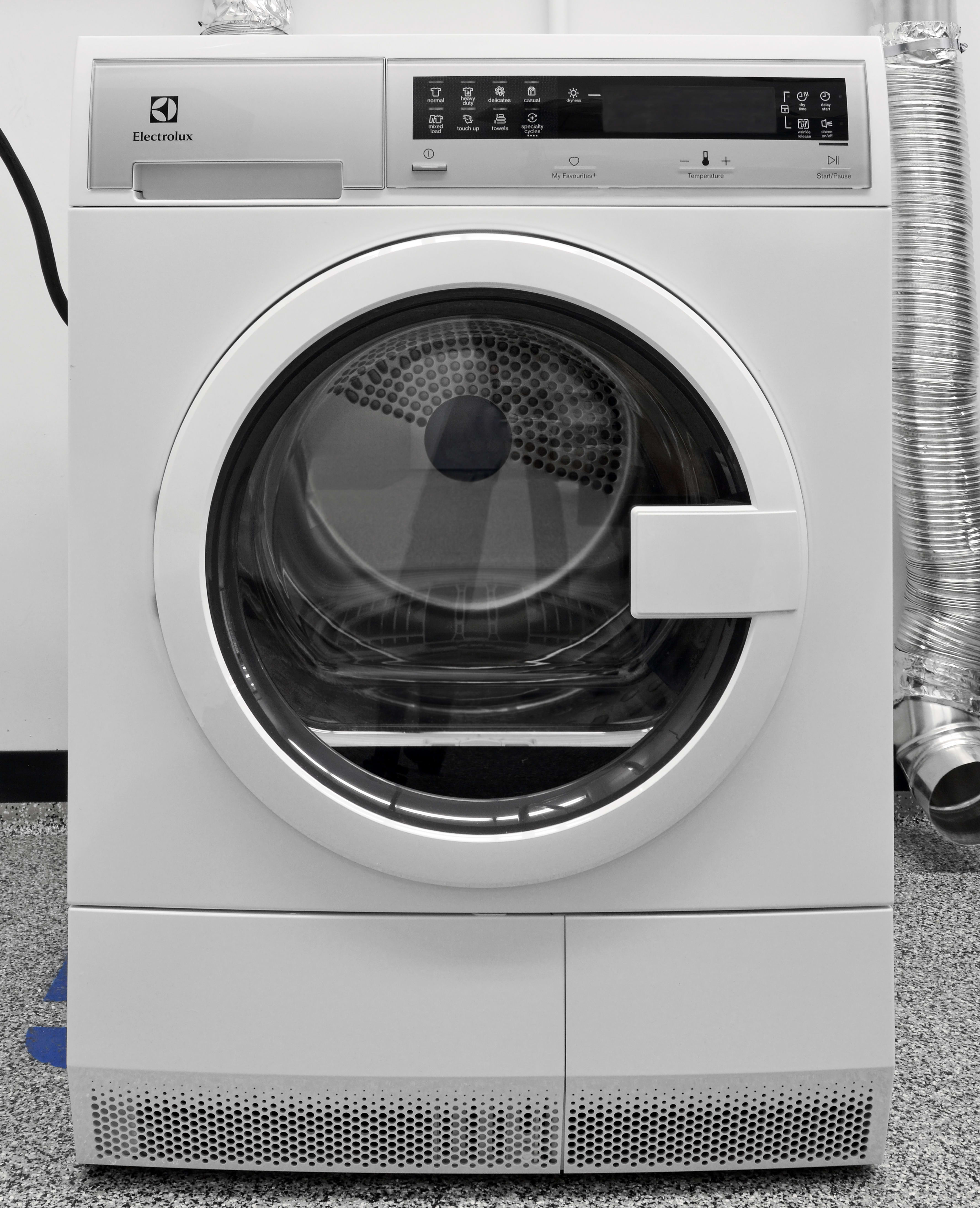 Electrolux Eied200qsw Ventless Condenser Dryer Review Frigidaire Washer And Knobs Front Load Electric Stylish Affordable The Pushes Compact Dryers In A Good Direction