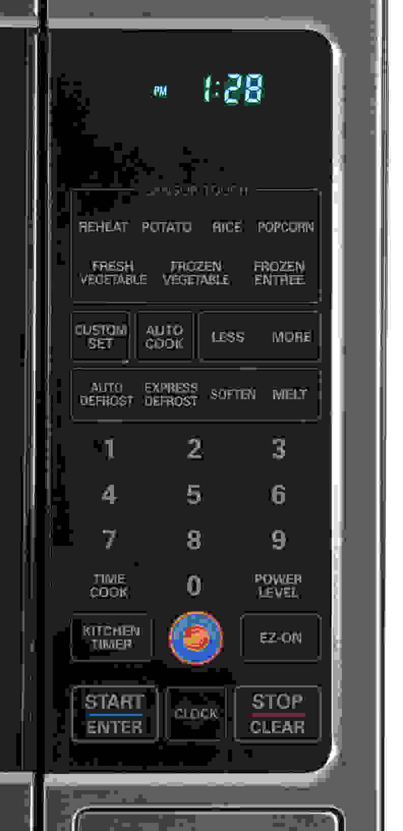 The LCRT2010ST features TrueCookPlus which makes for hassle free microwave cooking.