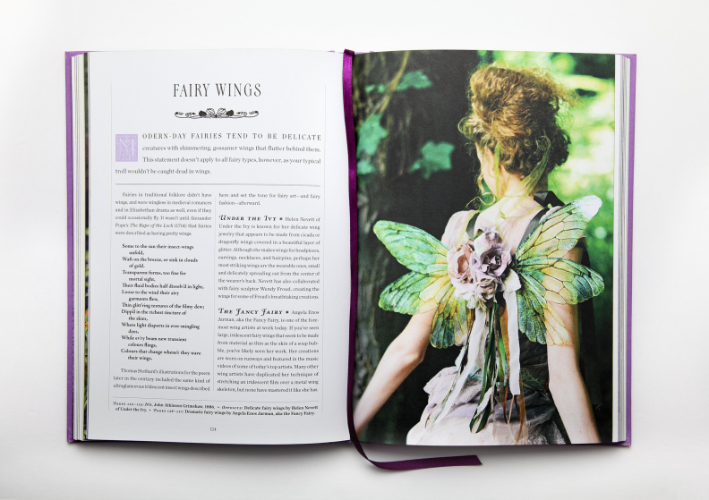 An exquisite anthology of all things faerie and mythical.