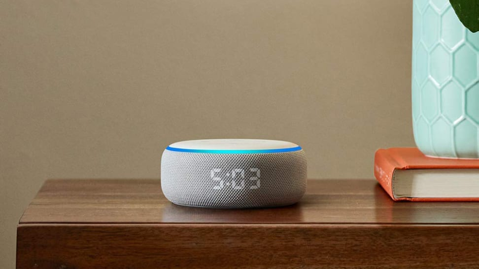 Third-generation Echo Dot with Clock
