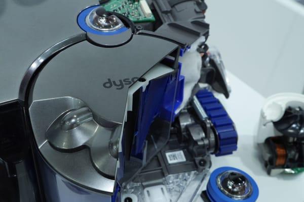 Dyson 360 Eye inside cutaway