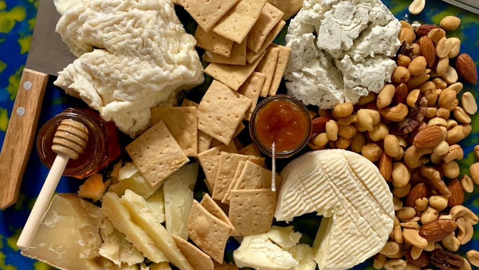 The key to a great cheese board is quality cheese.