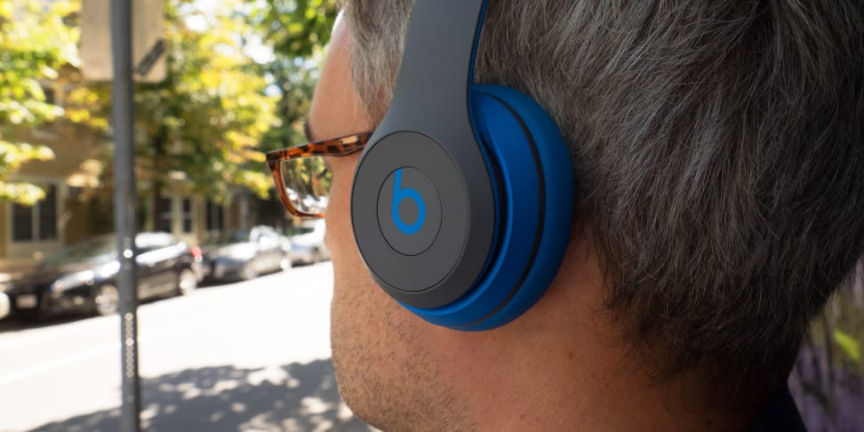 Beats Solo2 Wireless Headphones In Use