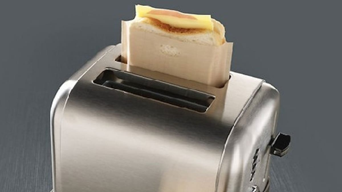 The one and only way to make grilled cheese in a toaster