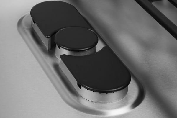 oval dual-ring burner