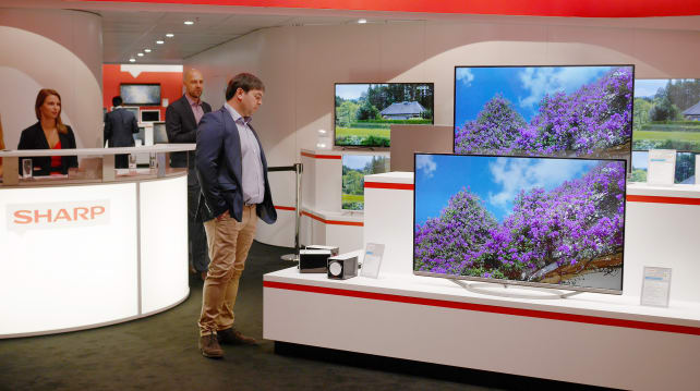 Sharp's IFA 2015 Booth