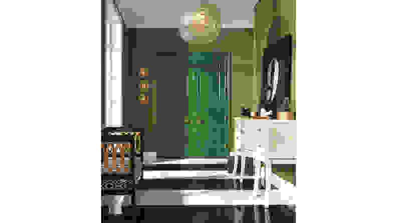 Sherwin-Williams-Arugula-door
