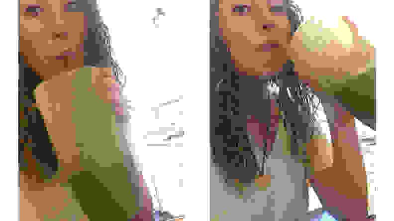 Smoothie Selfie