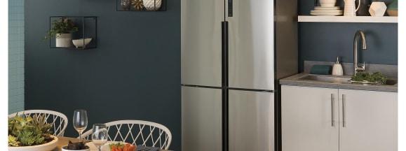 Haier quad door counter depth fridge